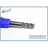 China Good Wear Resistance Tungsten Carbide End Mill Drilling Use 45/55 HRC wholesale