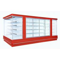 China Upright Display Freezer Open Deck Chillers Danfoss 4450*2370*2060 wholesale