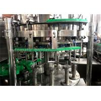 China Reasonable Stucture Glass Bottle Filling Machine SUS304 SS For Small Scale Filling wholesale