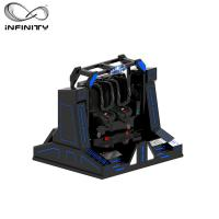 China Exciting Amusement Park VR Motion Simulator 9D Cinema Super Pendulum Virtual Reality Game wholesale