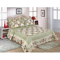 China Matched Printed Designs Home Bed Quilts Country Style 180x240cm For Bedcovers wholesale