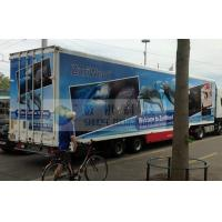 Quality Luxury 7D Trailer / Truck Cinema Systems With 12 seats Motion Chairs , Pneumatic for sale
