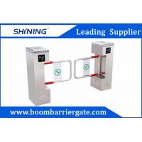 China RFID Rust - Proof Security Swing Barrier Gate Bi-Direction For Office Center on sale