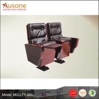 China Factory direct sale pu leather with pad auditorium chair wholesale