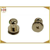 China Custom Metal Hardware For Bags / Handbags , Leather Purse Handles And Hardware wholesale