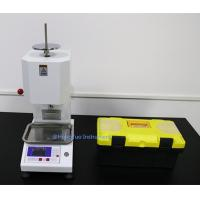 Buy cheap Digital ISO 1133 Polythene Melt Flow Index Tester from wholesalers