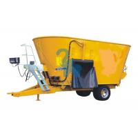 Quality Ecological TMR Feed Mixer Machine For Calf Husbandry With Hydraulic Unloading for sale