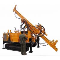 China Crawler Hydraulic Reverse Circulation Drilling Rig For Mining Exploration 500M Depth wholesale