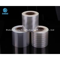 Buy cheap Holographic Transparent Metallized Shrink Film For Tobacco Cigarette / Medicine Box Packing from wholesalers