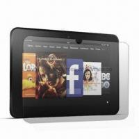 China Fingerprint-proof Screen Protector for Kindle Fire HD on sale