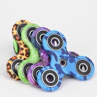 China Fashionable Stress Relief Fidget Spinner With Ceramic Bearing , Camouflage Series wholesale