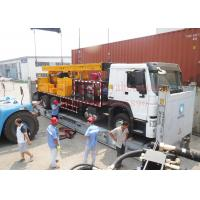 Quality 8X4 heavy duty truck mounted top head water well drilling rig by mud drilling for sale