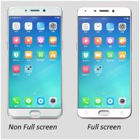 Buy cheap OPPO R9 Plus R9 tempered glass screen protector full coverage 0.33mm ultrathin from wholesalers