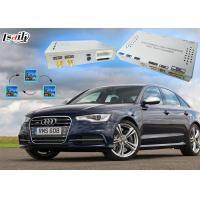 Buy cheap Audi S6 Multimedia Interface Auto Navigation Upgrade Original Screen for 3G MMI product