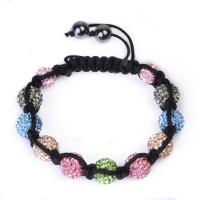 China Hot Selling Colorful Crystal Beaded Bracelets CJ-B-163 for Men, Unisex, Women wholesale