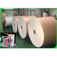 China Heat Resistance 260gsm + 26g PLA Coated Paper For Beverage Cups Food Safety wholesale