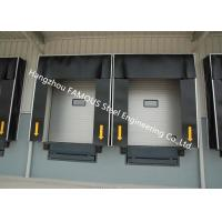 China Commercial PVC Doors With Folding Rubber Seal For Logistic Unloading Platform Use wholesale