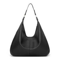 Buy cheap Black PU leather single shoulder 48cm Luxury Lady Bags, arm bags from wholesalers