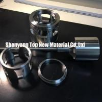 China CNC Machining Fisher Control Valve Seat Parts Inserts Silver And Grey Color wholesale