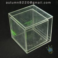 China BO (49) clear acrylic case with dividers wholesale