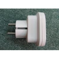 Quality No.1238 two round pins 16A 250V multi plug socket power plug electric plugs worldwide ABS  for sale