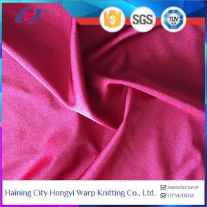 China Shiny 80% Nylon 20% Spandex Stretch Swimwear Sports Fabric World Wholesale on sale