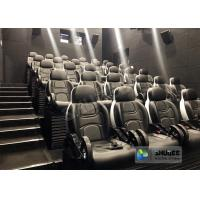 China Novel Motion 5D Cinema Equipment With Luxurious Armrest Seats 2 Years Warranty wholesale