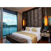 Buy cheap 5 Star Hilton Hotel Bedroom Furniture Sets Customized Upholstered Environmental Friendly from wholesalers