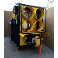 China Yellow 4 Outlet Waste Oil Burning Heater Stainless Steel Combustion Chamber wholesale
