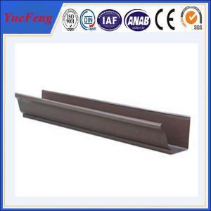 China YUEFENG manufacturer Black Anodized Aluminum Screw Profile wholesale