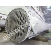 China Chemical Processing Equipment  Zirconium 702 Shell And Tube Heat Exchanger  for Acetic Acid wholesale