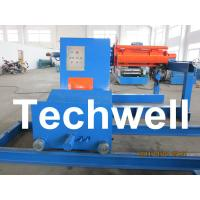 China High Speed 0 - 15m/min Uncoiling Speed 5 Ton Automatic Uncoiler / Decoiler Curving Machine wholesale