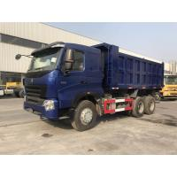 China SINOTRUK HOWO A7 6x4 Heavy Duty Dump Truck With ZF8118 Steering And HW19710 Transmission wholesale
