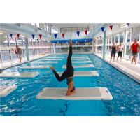 China High Performance Aqua Exercise Mat , Water Yoga Board For Swimming Pool wholesale