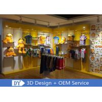 China Nice Fresh Wooden Lacqer Children's Boutique Store Fixtures With Led Lighting wholesale
