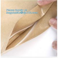 China gusset kraft paper baguette bread plastic bag bread packaging bags,luxury gift food grade bakery Paper cake and bread pa on sale