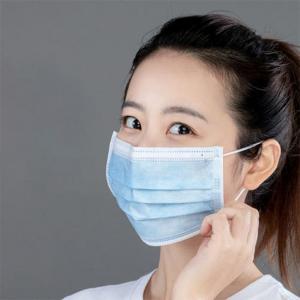 China Breathable Non Woven Face Mask Meltblown Non Woven Fabric Face Mask wholesale