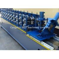 China Steel Garage 2' And 3' Track Door Guide Roll Forming Machine 3kw MotorPower wholesale