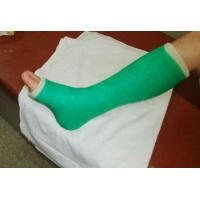 China Green Sport Strapping Waterproof Medical Tape Removable , 10.0cmx 360cm wholesale