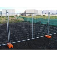 China Hot Dipped Galvanized Temporary Fence Convenient Installation for Construction Site wholesale