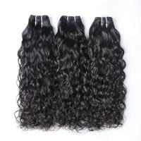 China Healthy 8'' Cambodian Virgin Hair Bundles Tangle Free Natural Color wholesale