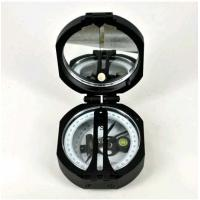 China Black Survey Instruments' Accessories Geology Metal Compass With Mirror wholesale