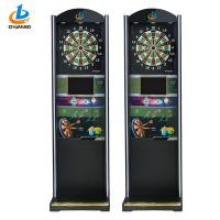 Quality Professional Coin Operated Game Machine / Automatic Soft Tip Dart Board Machine for sale