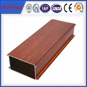 China Hot Sale Wood Grain Aluminium Alloy Pipes, aluminum tubes extrusion wholesale