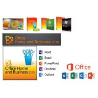 China Original Microsoft Office 2010 Home And Business Versions For Windows 7/8/10 wholesale