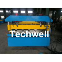 China Iron Metal Roof Sheet Roll Forming Machine With Manual Or Hydraulic Uncoiler wholesale