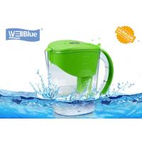 Buy cheap Customized 3.5L Alkaline Classic Water Pitcher , Water Purifier Jug BPA Free from wholesalers