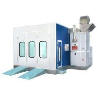 Quality 380V Auto Car Spray Booth With Water Curtain For Automotive Cars for sale