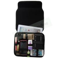 Quality Electronic Accessories Bag / GRID Travel Cable Organizer 32.7*24*2 CM for sale