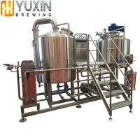China 100L 200L 300L Stainless Steel Micro Beer Brewery Equipment System wholesale